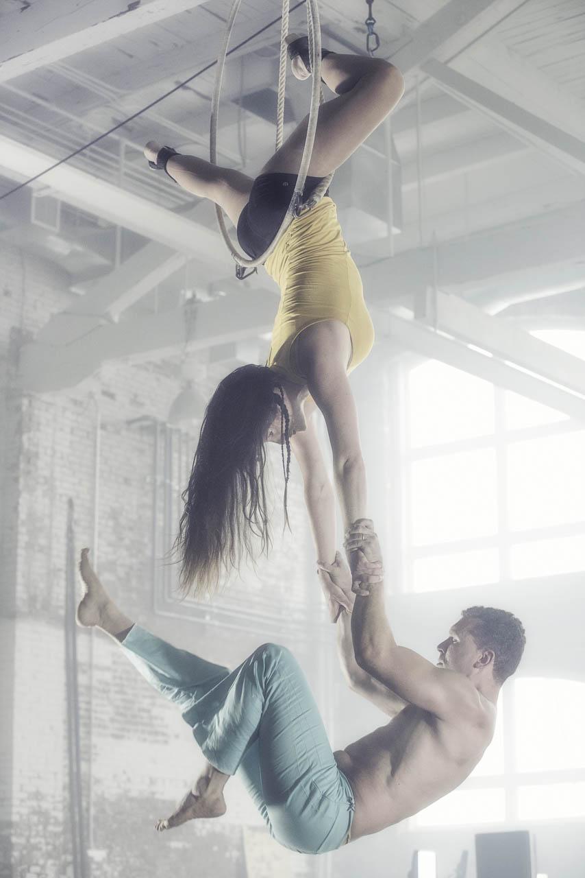 Circus Maine - Kat Finck & Joshua Oliver