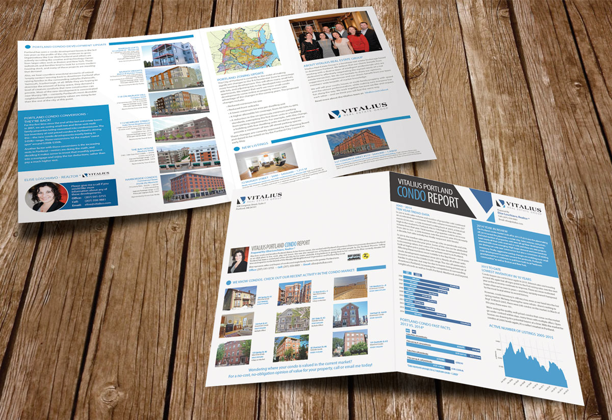 Real Estate Report and Property Post Cards