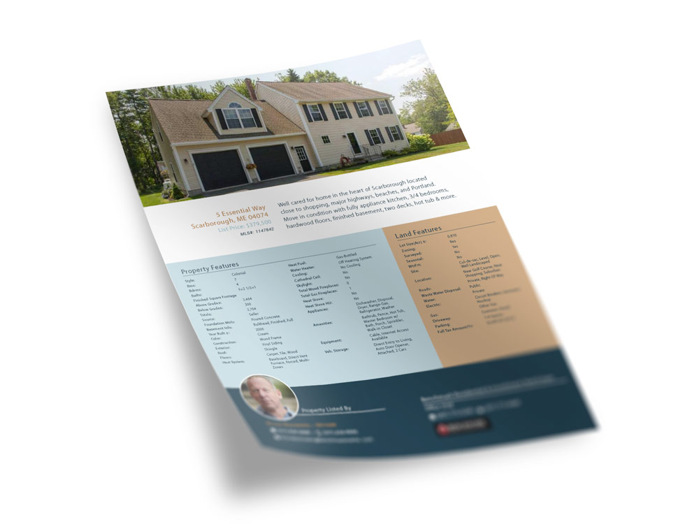 Real Estate Sell Sheet